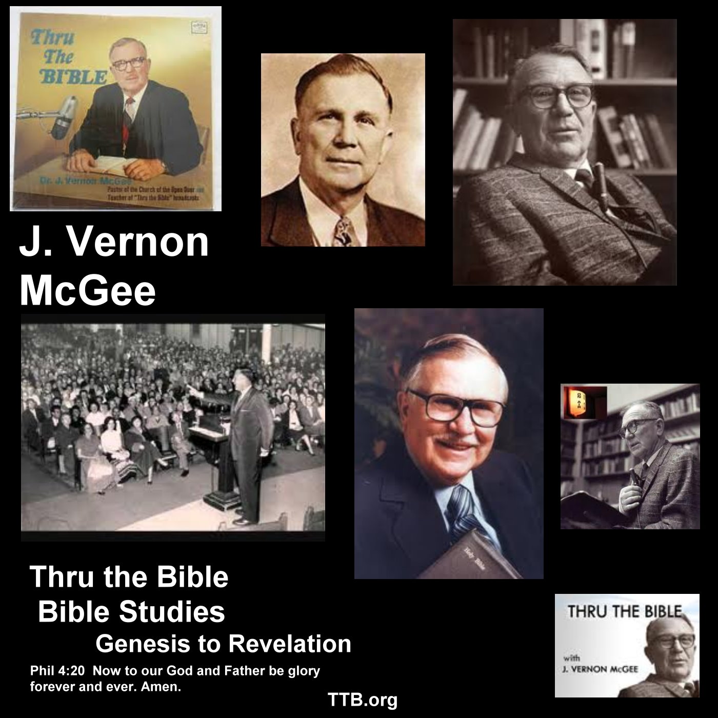 J. Vernon McGee - Thru the Bible - New Testament - Bible Studies - Book by Book